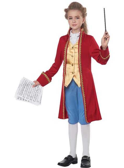 Disfraz de Mozart para niño - infantil