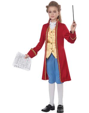 Disfraz de Mozart para niño