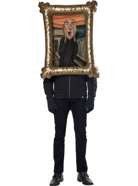 Disfraz de El Grito de Munch para adulto