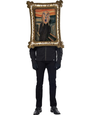 Costume da L'Urlo di Munch per adulto