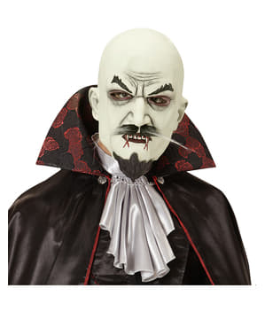 Maska wąsaty wampir