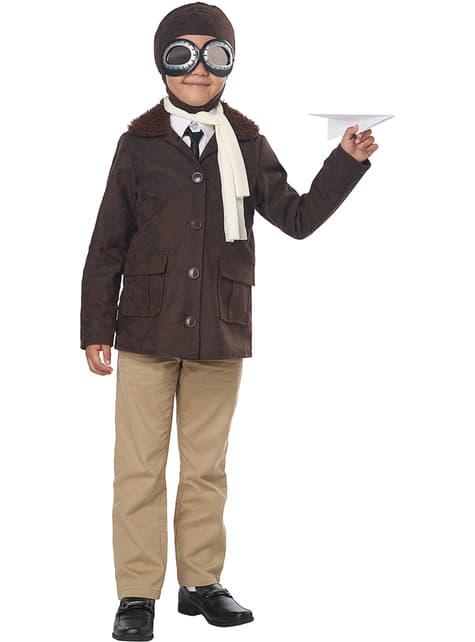 Amerikaans vliegenier kostuum voor jongens
