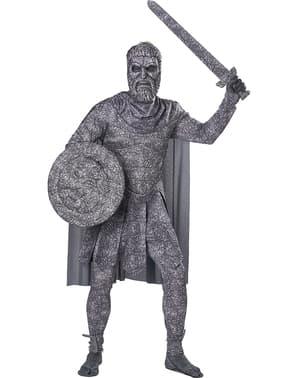 Fato de estátua romana para homem