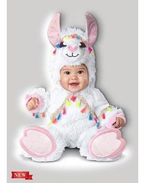 Lama kostuum voor baby's