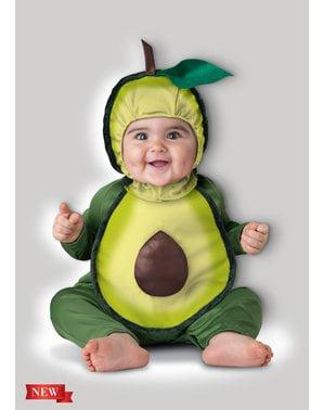 Disfraz de aguacate para bebé