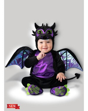Purple Dragon Costume for Babies