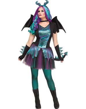 Dark Dragon Costume for Women