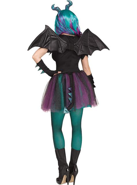 Disfraz de dragón oscuro para mujer - mujer