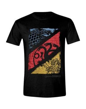 पुरुषों के लिए सिंहासन हाउस सिगिल टी-शर्ट का खेल