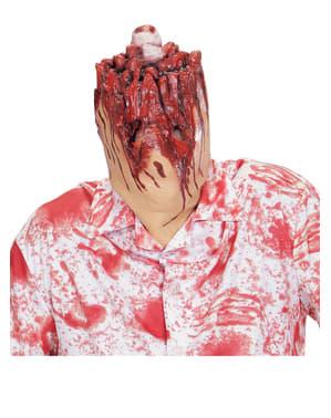Masque de tête décapitée
