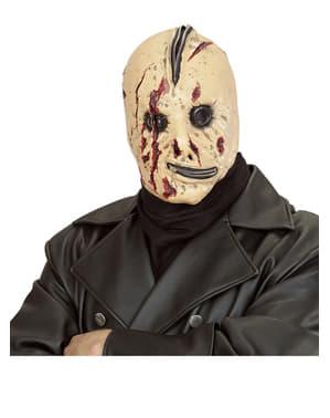 Máscara de sin rostro cremalleras