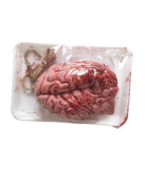 Blutiges Gehirn vakuumverpackt