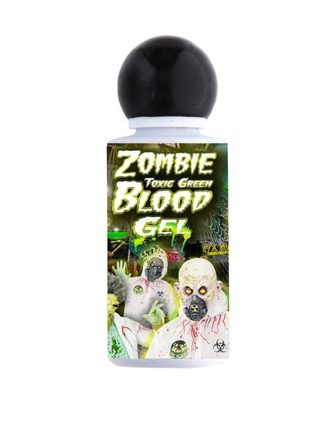 Green zombie blood in gel