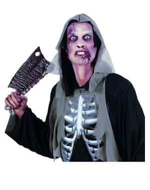Maquillage prothèse peau zombie