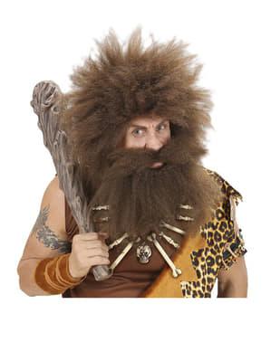 Grottmänniskan Halsband med ben och dödskalle