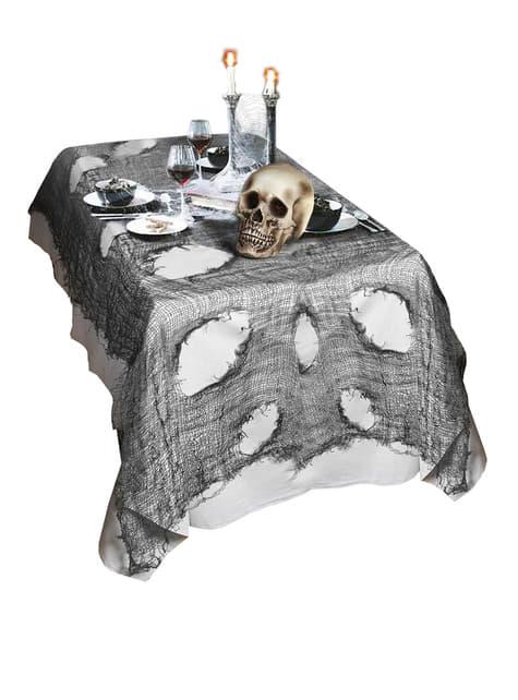 Pano de decoração preta para Halloween