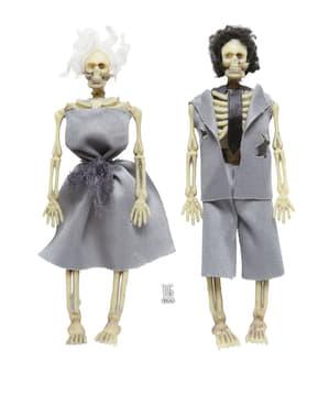 Invitados a la boda cadáver decorativos