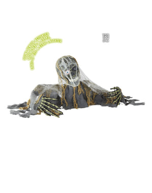 Esqueleto zombie rompesuelos
