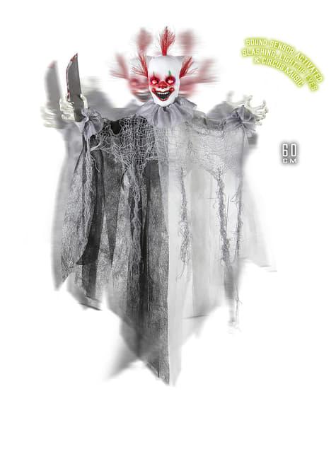 Dekorace zabijácký cirkusový klaun
