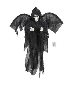 Hangende dood met vleugels