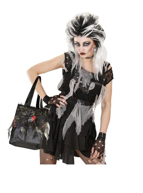 Bolso zombie con calaveras - para tu disfraz