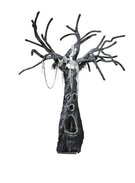 Začarovaný halloweenský strom