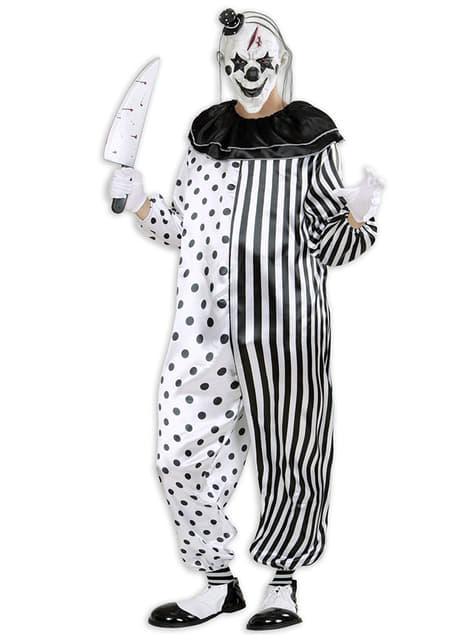 Harlequin gyilkos bohóc jelmez férfiaknak