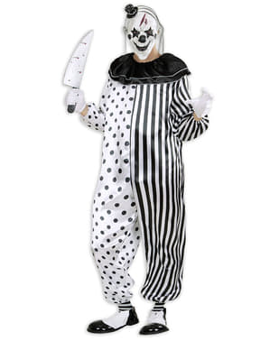 Костюм клоуна-вбивці Арлекіна для чоловіків