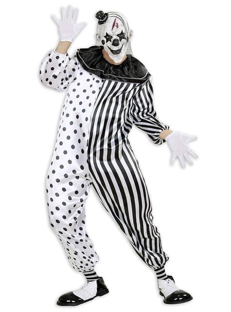 Harlekijn clown moordenaar kostuum voor mannen