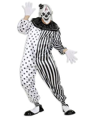 Harlekin Morderklovn Kostyme Mann