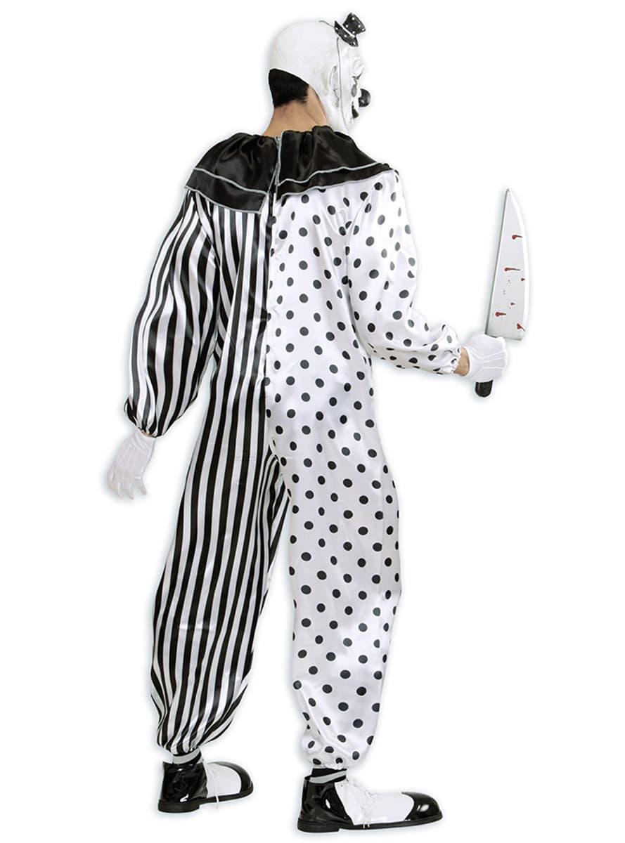 killer harlekin clown kost m f r herren funidelia. Black Bedroom Furniture Sets. Home Design Ideas
