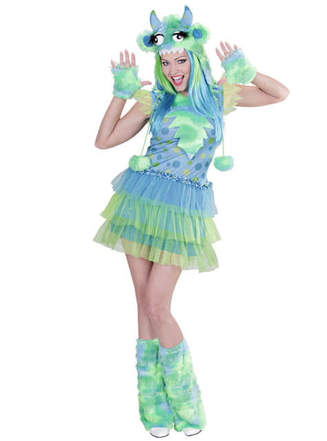 Womens Green Monster Costume
