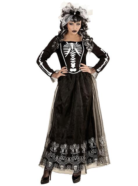 Disfraz de dama esqueleto para mujer - mujer