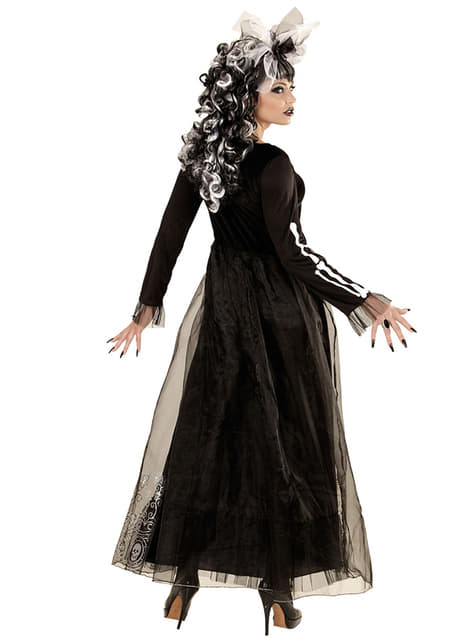 Skelett Dame Kostüm für Damen