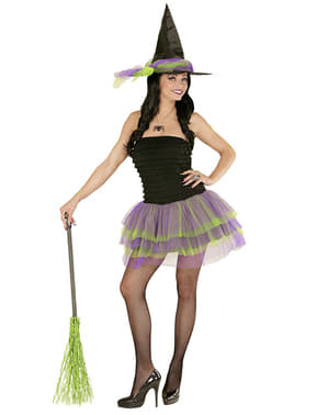Womens Sexy Glow Witch Costume