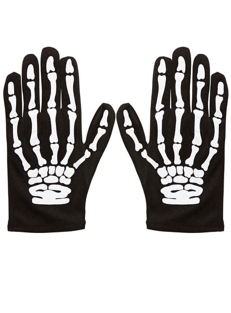 Skeleton Gloves for Kids