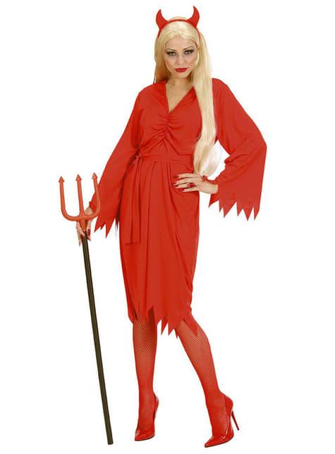 Disfraz de diablesa del fuego para mujer - mujer