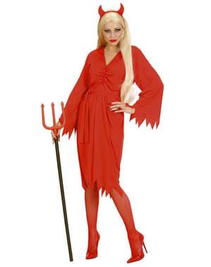 Disfraz de diablesa del fuego para mujer