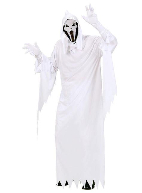 Mens Pitiless Ghost Costume
