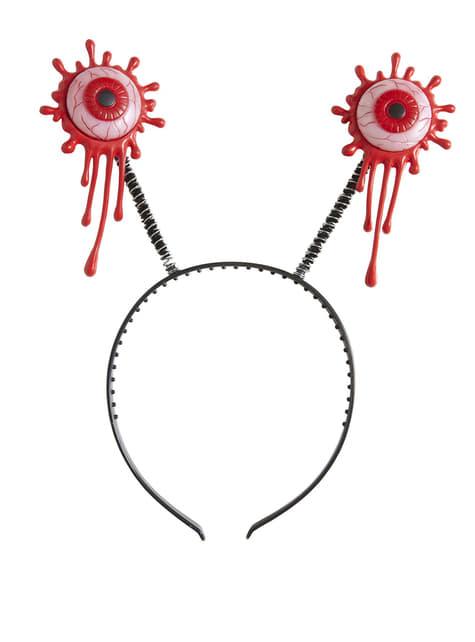 Diadema con ojos sangrientos