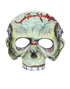 Máscara monster con cicatriz