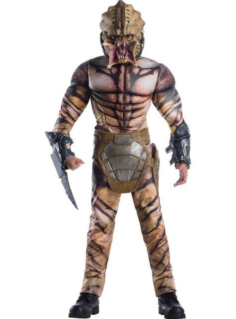 Disfraz de Predator deluxe para adolescente