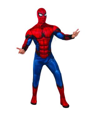 男性のためのスパイダーマン帰郷の衣装