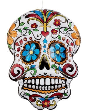Catrina mexicaine gonflable de 100 cm