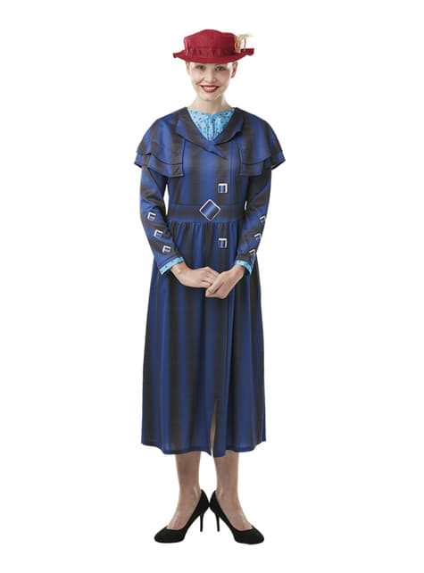 Strój Mary Poppins dla kobiet – Mary Poppins Powraca