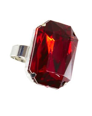 Pierścionek wampirzycy rubin