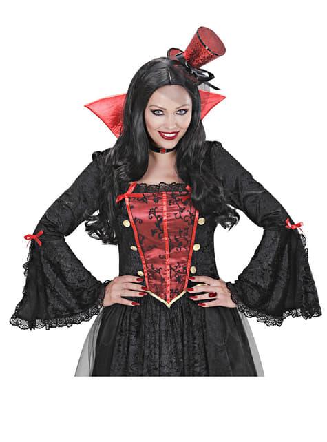 Anillo de vampiresa rubí - para tu disfraz