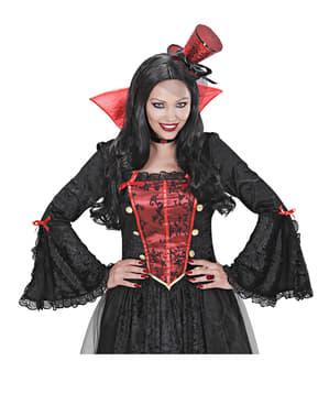 Anillo de vampiresa rubí