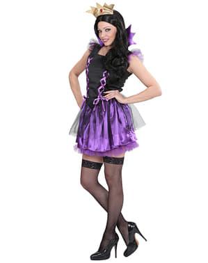 Costum de vrăjitoare a zăpezilor pentru femeie