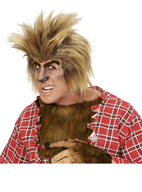 メンズ金髪狼ウィッグ